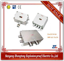 EJX Series explosion proof high voltage flush mounted junction box for e , DIP