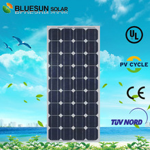Bluesun mono 100w solar panel Chinese best quality solar cell bag with low price for home use