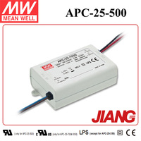 25W Power Supply 500mA 15~50V Output APC-25-500 Meanwell Constant Current Mode LED Driver