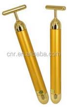 24K Gold Electric facial Massage Bar skin care facial massager