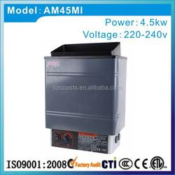Chian supplier CE Amazon 4.5KW 220V electric steam sauna stove sauna heater