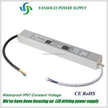 30w 24v 1250mA led driver waterproof led driver ip67, led driver module