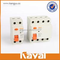 40A RCCB/RCD/residual current circuit breaker, 3P+N pole rccb/elcb, class A quality residual current circuit breaker