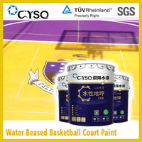 Water based color sand epoxy floor coating