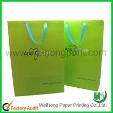 Shoppingbag ribbon handle