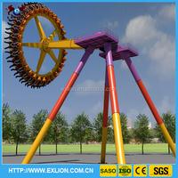 Hot sale ! Gyro swing ride machine amusement park 24 seats big pendulum