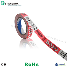 One Time UHF Rfid Paper Wristbands Tag For Events