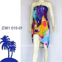 New arrivals customized bali sarong pareo with fashion printing