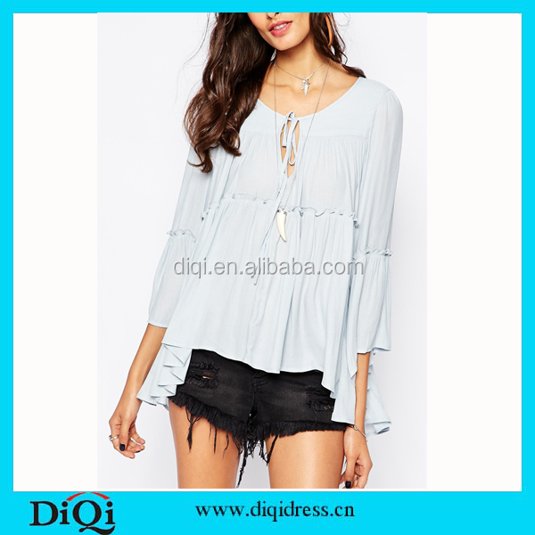 Fantastic Women Blouse Shirt New 2015 Summer Chiffon Girls Blouse Sleeveless