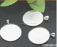 Z-3014 Fashion Pendant Base Blanks Settings 25mm
