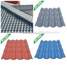 spanish style plastic construction material synthetic resin roof tiles