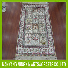 Fashionable wholesale Nice New Design Hand made Persian Silk Carpet Oriental Rug