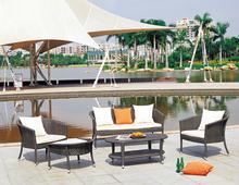 Antony Eco-friendly Fashionable Long-lasting Outdoor Rattan Wicker Hotel Furniture Sofa Set
