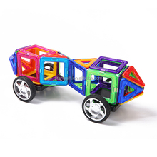 High quality wholesale plastic magnetic building blocks toy for kids 2015 chrismtas