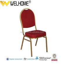 High Quality Stackable Iron Banquet Chair For Restaurant