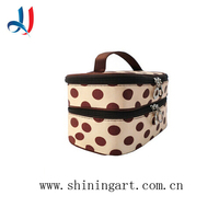 2015 Hot Sale Funny Makeup Bag Cute Dot Cosmetic Bag