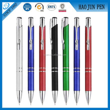 2015 Metal Aluminum Material Cheap Click Promotional Pen