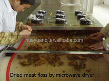 Dried Meat Floss Microwave Drying Sterilization Machine
