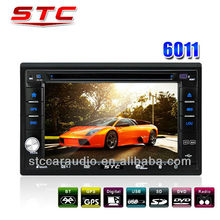 GPS/Bluetooth/TV/AMFM/RDS Double Din Car DVD Player STC-6011