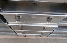 Aluminum alloy waterproof truck/trailer tool box,OEM manufacture direct