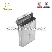 Werbe-mini blechdose für zigarette