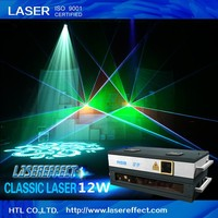 12W RGB programmable laser light show system