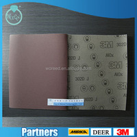 "9*11"" holeless P240 3M Abrasive paper Sand Wholesale For Deburring wood Wholesale Waterproof MANUFACTURER"