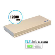 Power Bank, 12000mAh Auto Power External Mobile Battery Charger Pack, 2.1A USB Charger for Ipad