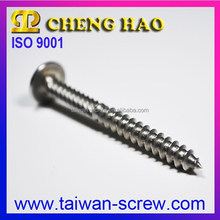Poiz round washer head tapping stainless steel fasteners