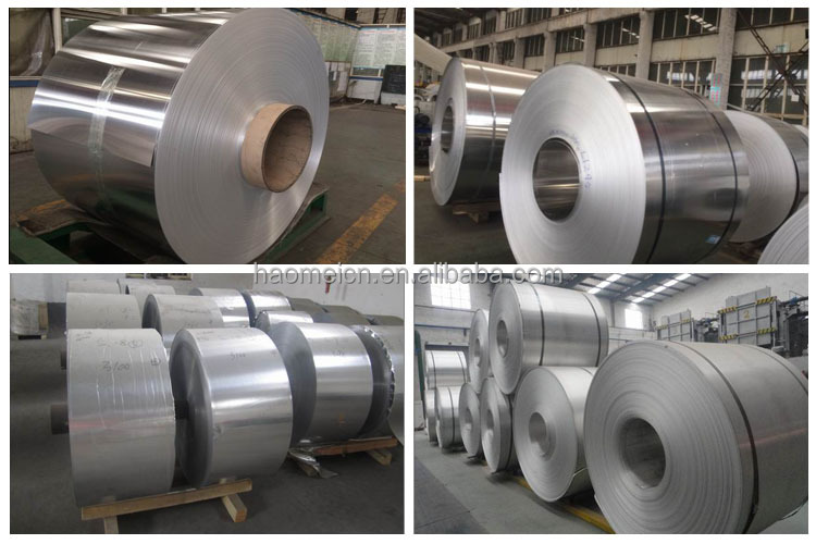 high quality aluminium coil 3003 h14 5052 h26 6063 t8 etc from china HaoMei supplier