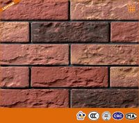 Exterior Wall Faux Brick Ceramic Tiles