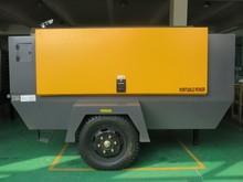 7m3 portable compressor electric mobile for road