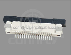 Most popular 0.5mm zif R/A SMT type FPC connector with CE FCC certificated