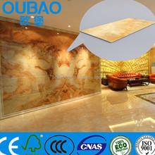 2015 nueva imitación de productos de plástico de piedra compuesto de construcción de la construcción casa moderna decoración de interiores azulejo rústico
