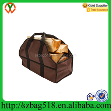 Durable Polyester Firewood bag,Firewood Tote wholesale