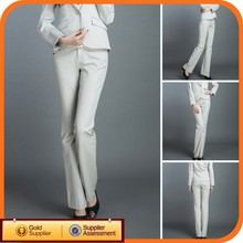 Wholesale white ladies long pants suits & tuxedo