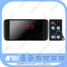 2015 new products global eyes H.264-HD720P table clock camera home security nanny camera