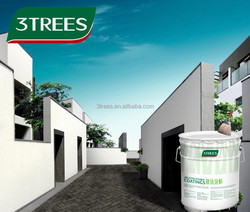 3TREES Premium Weather Resistant Environment-friendly Water-based Acrylic Emulsion Exterior Wall Paint For Building