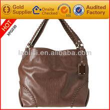 Guangzhou wholesale large hobo bags leather handbag for women