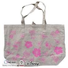 2015 Low Price Quality Custom Cheap Jute Tote Bags/Custom Printed Jutes Bags/Cotton Linen Tote Bag