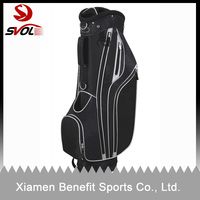 China supplier cheap golf bag with wheels