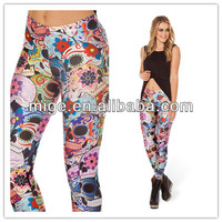 2014 day of the dead fabric day of the dead leggings DL025