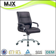 Designer top sell wooden/leather swivel manager chairs