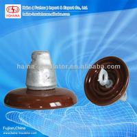 Electrical Disc Suspension 33kv isolator Insulator 52-3
