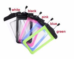 hot sale mobile phone pvc waterproof bag