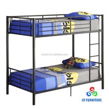 2015 latest home furniture school furniture full metal bunk bed frame