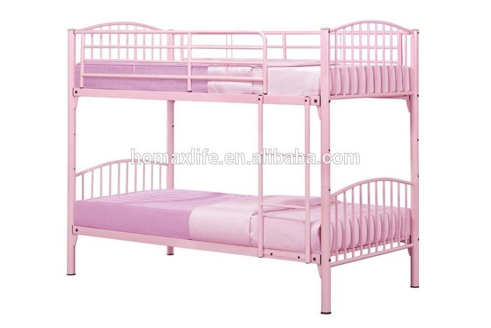 Forjado moderna dos pisos cama litera de metal db 4718 for Literas leroy merlin