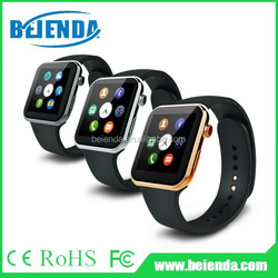 BT smart watch phone with sleep monitor pedometer wrist watch phone compitable Android mobile phone