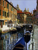 High quality Venice city landscape oil painting on canvas