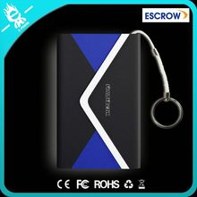 Chinese supplier 11mm thin book shape power bank case for samsung galaxy s4 mini i9190 for promotion item